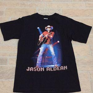 Jason Aldean 2010 Concert Tour Graphic T Shirt